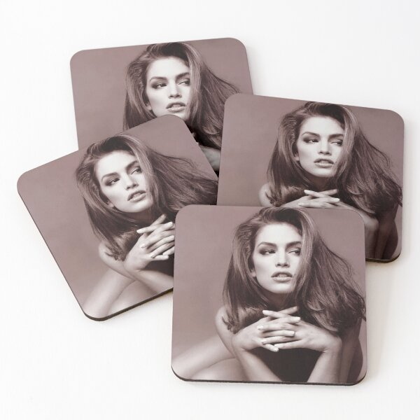 Cindy Crawford : Black and White Coasters (Set of 4)