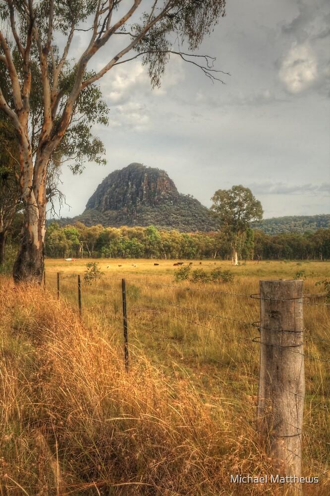 Timor Rock in the Warrumbungles by Michael Matthews