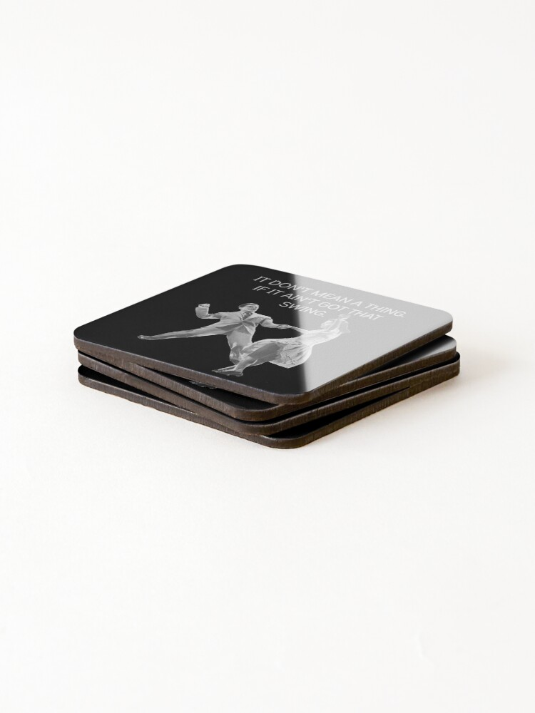 Alternate view of Swing Thing! Coasters (Set of 4)