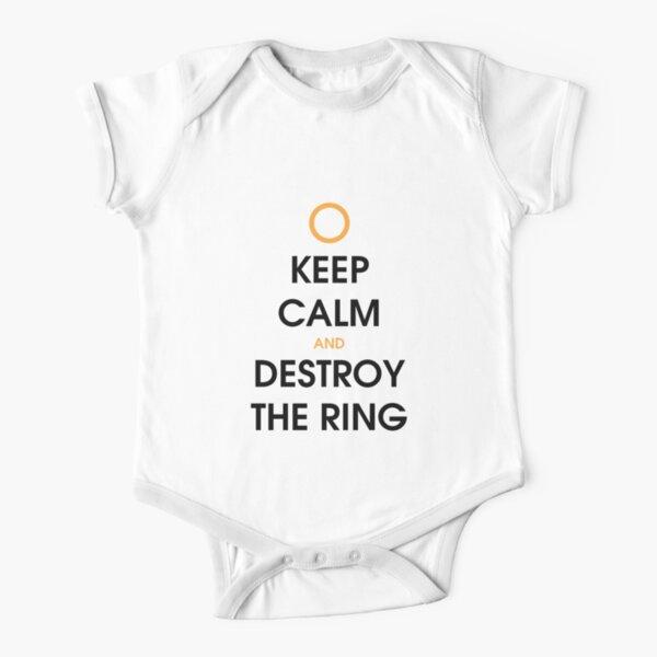 Reste calme et détruis l'anneau Body manches courtes