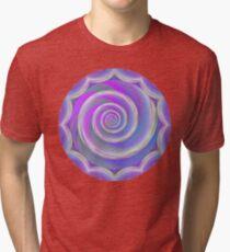 Cotton Candy Swirl  Tri-blend T-Shirt
