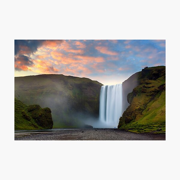 Skogafoss, Iceland Photographic Print