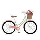 Bicycle Illustration by ArtByMichelleT