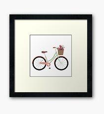 Bicycle Illustration Framed Print