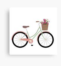Bicycle Illustration Canvas Print