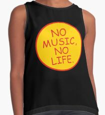 No Music No Life Sleeveless Top