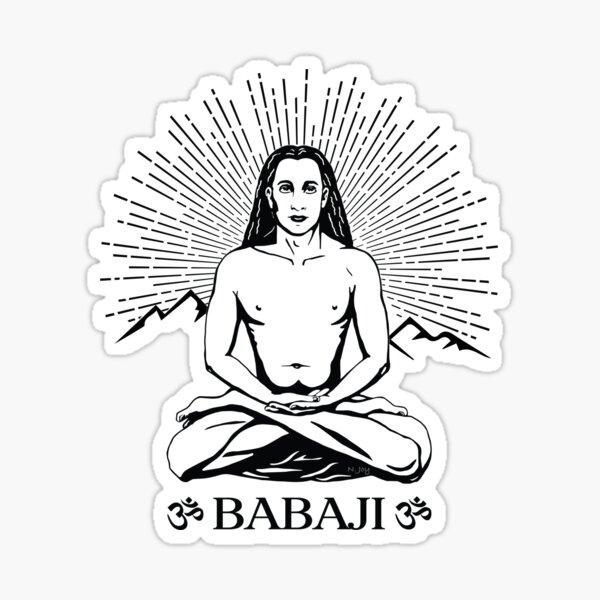 Mahavatar Babaji Sticker