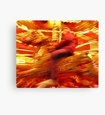 Carousel-01 Canvas Print