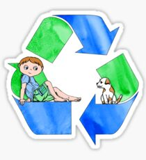 Boys Love the Planet, Too Sticker