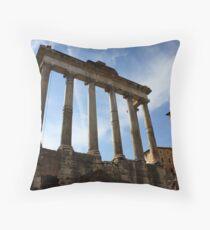 Temple of Saturn Throw Pillow