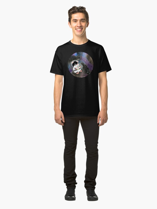 Alternate view of Space Hamster Classic T-Shirt