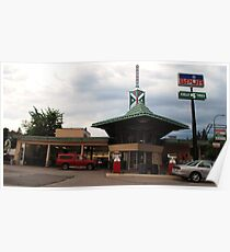Frank Lloyd Wright Gas station Poster
