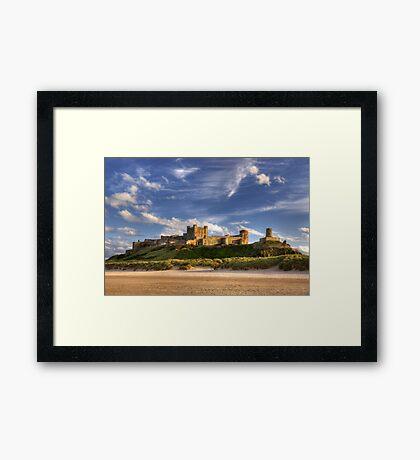 Bamburgh Castle Framed Print