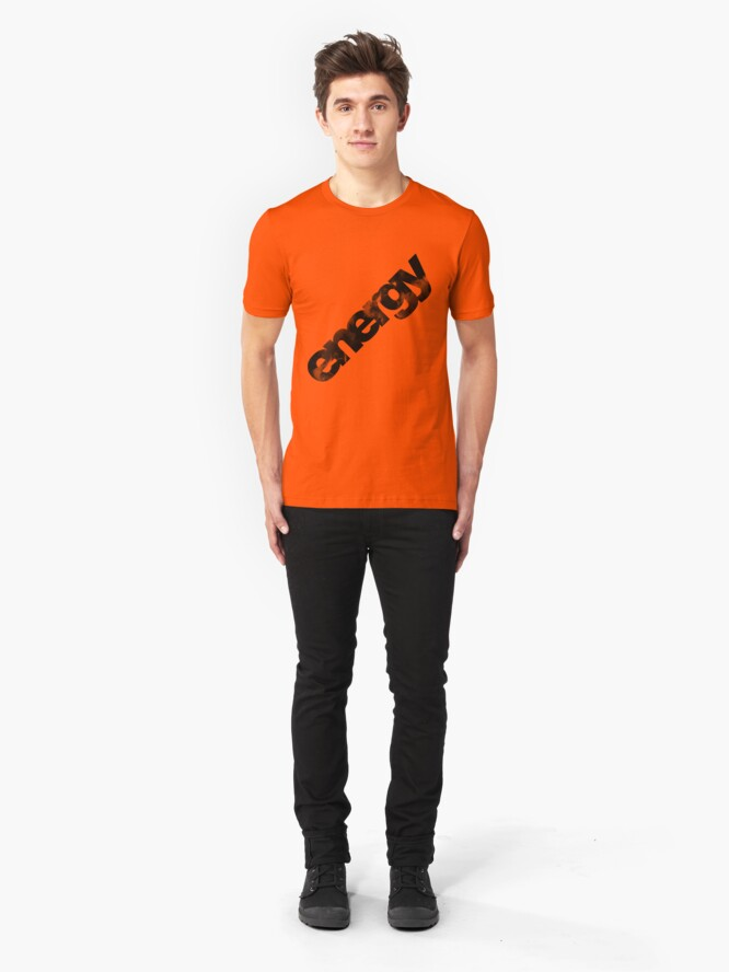 Alternate view of Energy II. Slim Fit T-Shirt