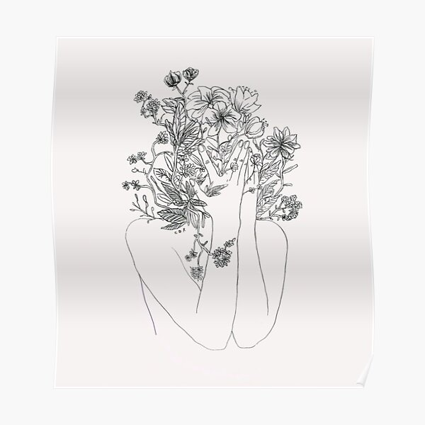 My mind is flowers  Poster