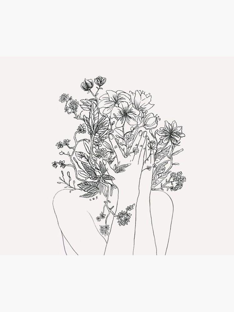 My mind is flowers  by BrookeMcBee