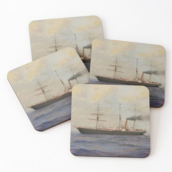 SY Aurora - M Stainforth Coasters (Set of 4)