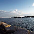 Bristol Harbor, Rhode Island by endomental Artistry