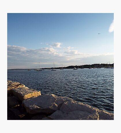 Bristol Harbor, Rhode Island Photographic Print