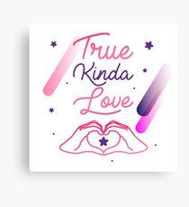 Steven Universe - true kinda love Canvas Print