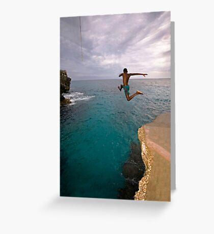 Jumpin' Jamaica Greeting Card