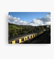 severn valley railway Canvas Print
