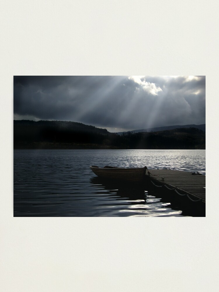Alternate view of Trossachs Fishing Boat Photographic Print