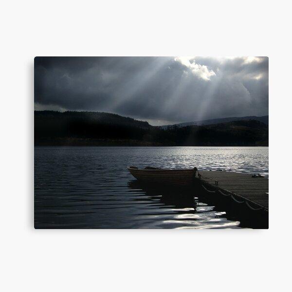 Trossachs Fishing Boat Canvas Print