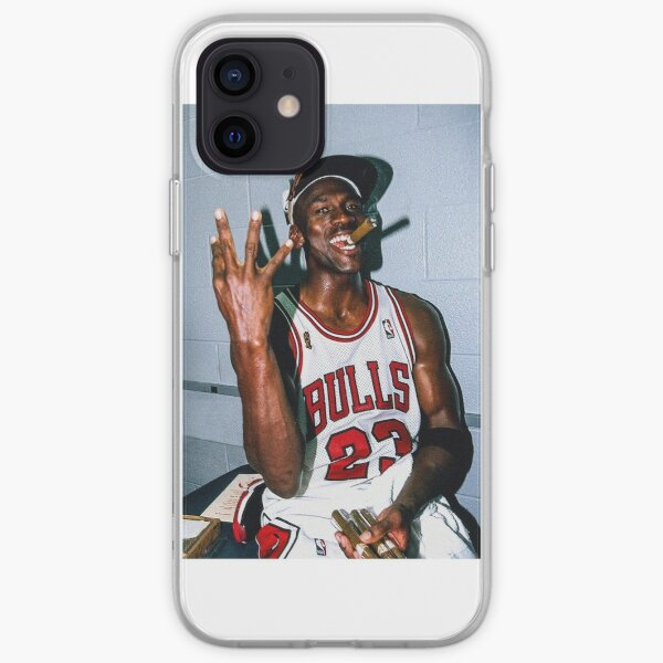 Championnat Michael Jordan Coque souple iPhone