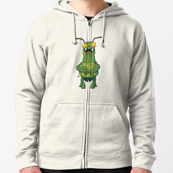 Stinkbug Monster Zipped Hoodie