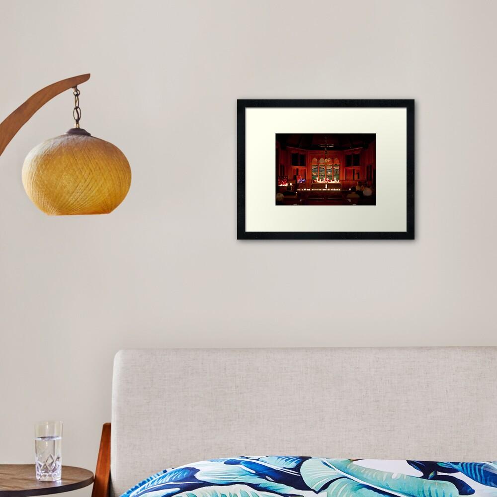 Taize on Mayne Framed Art Print