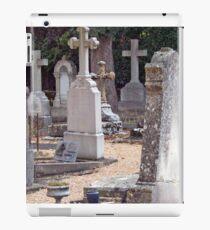 Headstones In Provence iPad Case/Skin