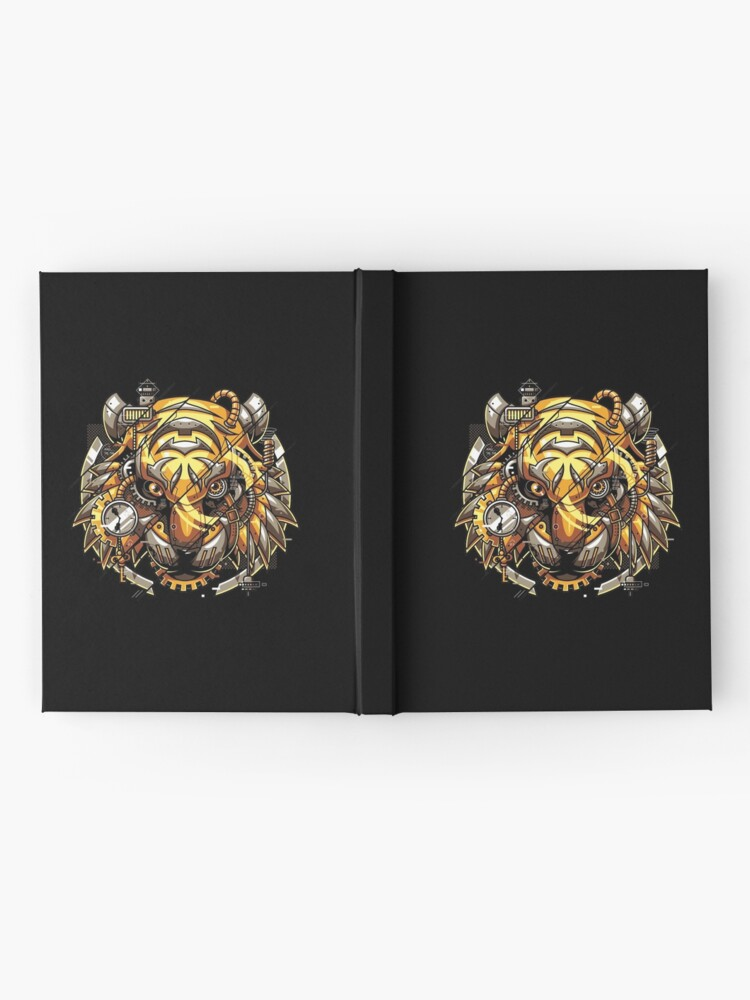 Alternate view of Digitalized Tiger Hardcover Journal