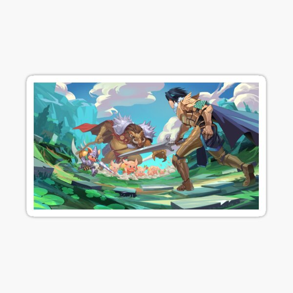 The Tales of Epicton Kingdom Sticker