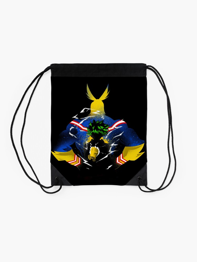Alternate view of All-MIght! Drawstring Bag