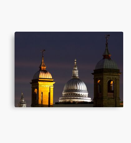 St pauls Dome Canvas Print