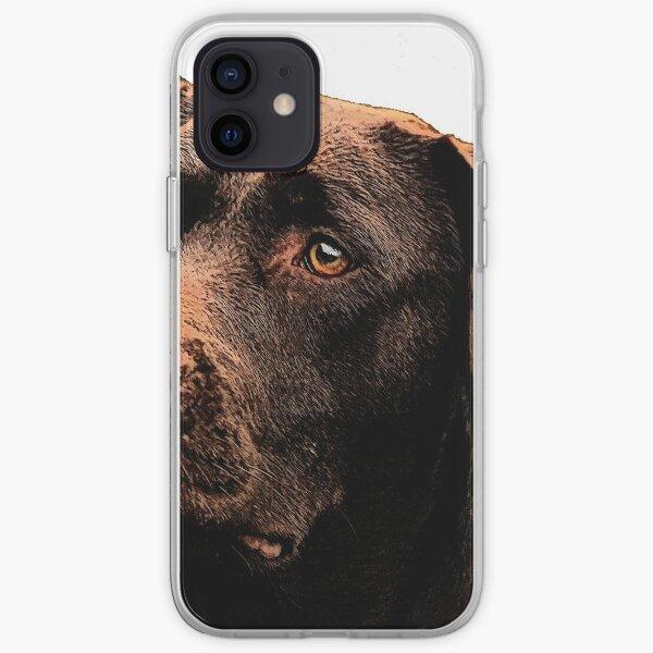 Chocolate Lab iPhone Soft Case