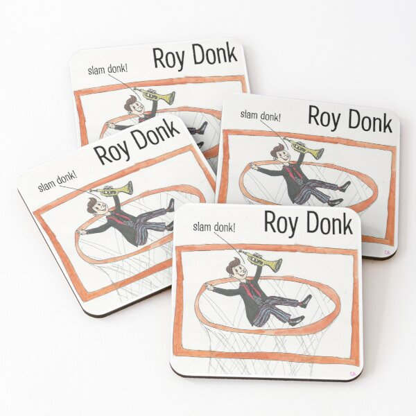 Roy Donk Album Cover Coasters (Set of 4)