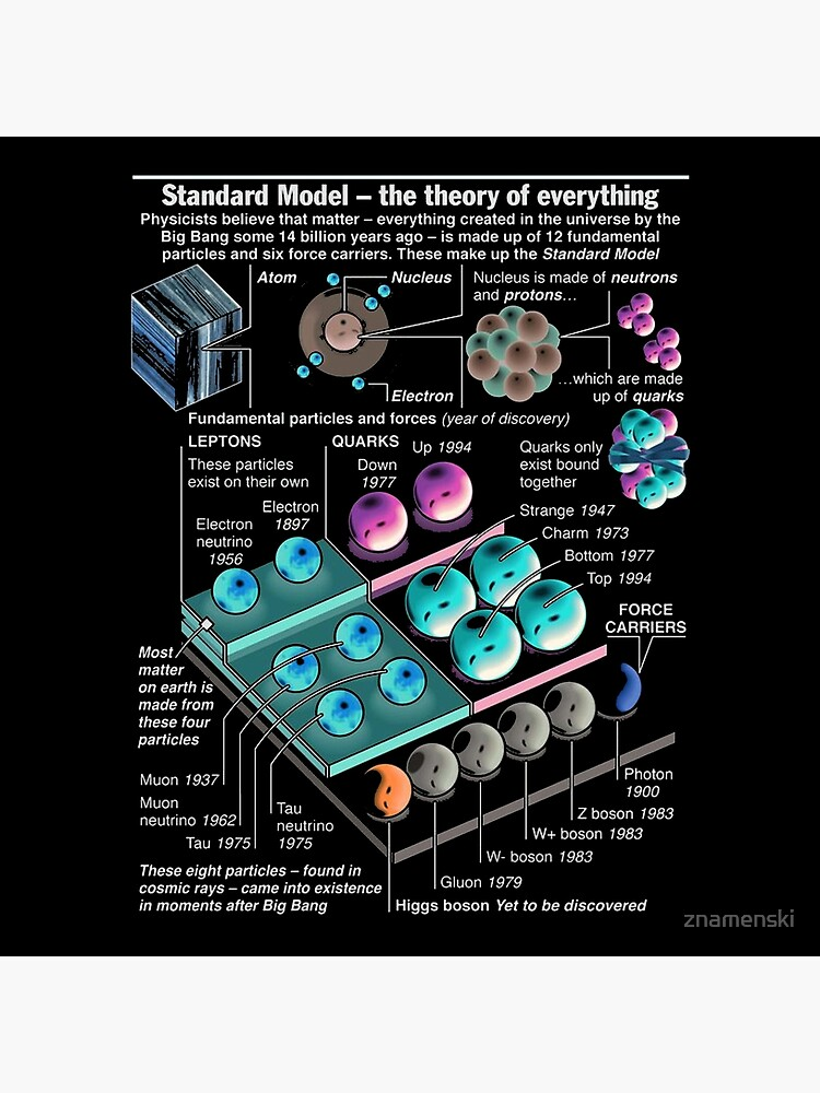 Physics Standard Model Theory  by znamenski