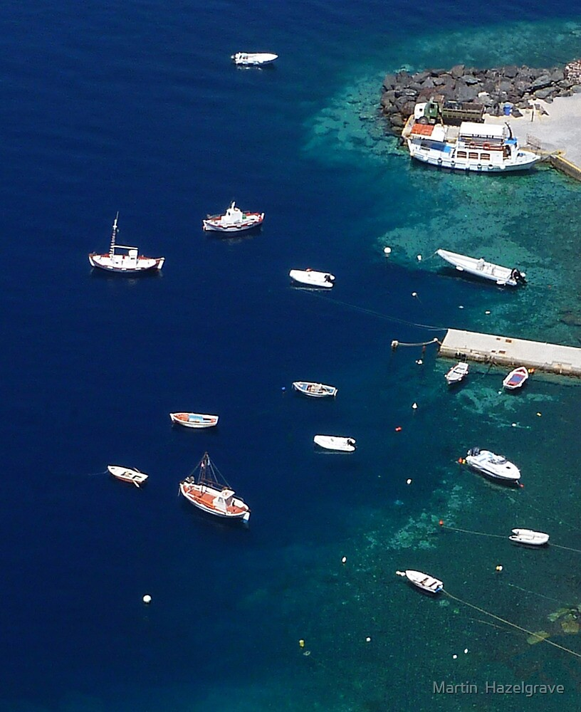 Beautiful Santorini by Martin  Hazelgrave