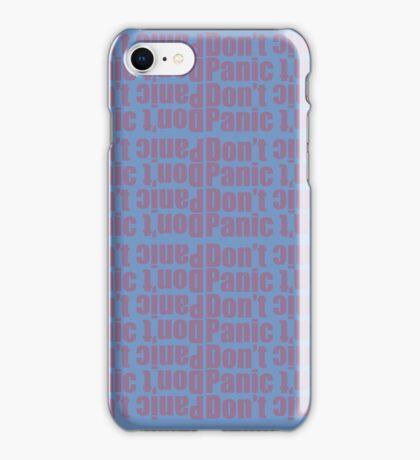 Don't Panic iPhone Case/Skin
