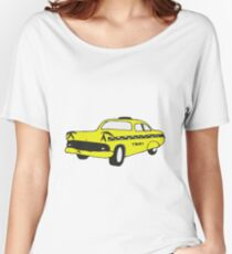 Cute Yellow Cab Women's Relaxed Fit T-Shirt