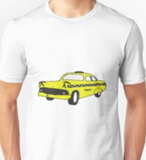 Cute Yellow Cab Unisex T-Shirt