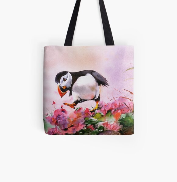 In The Pink All Over Print Tote Bag