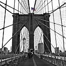 Brooklyn Bridge, NYC by Jeanne Horak-Druiff