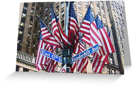 New York stars & stripes by Jeanne Horak-Druiff