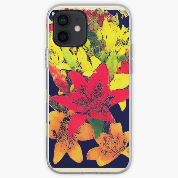Large Bunch of Flowers iPhone Soft Case