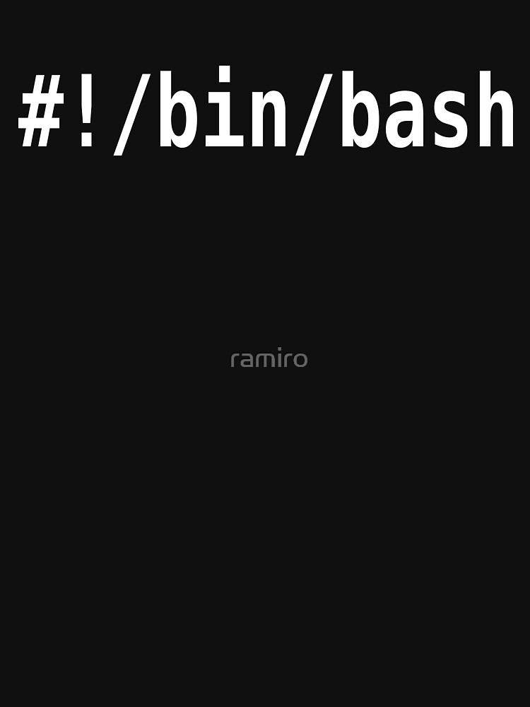 #!/bin/bash - White Text Design for Command Line Hackers by ramiro
