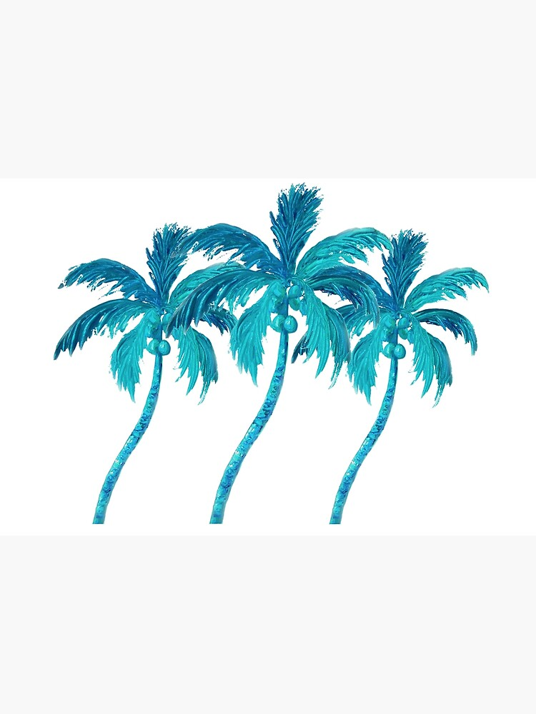 Three Coconut Palm Trees by MatsonArtDesign