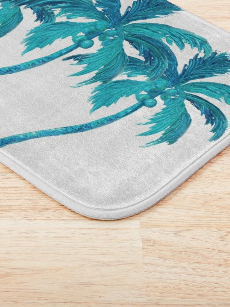 Alternate view of Three Coconut Palm Trees Bath Mat